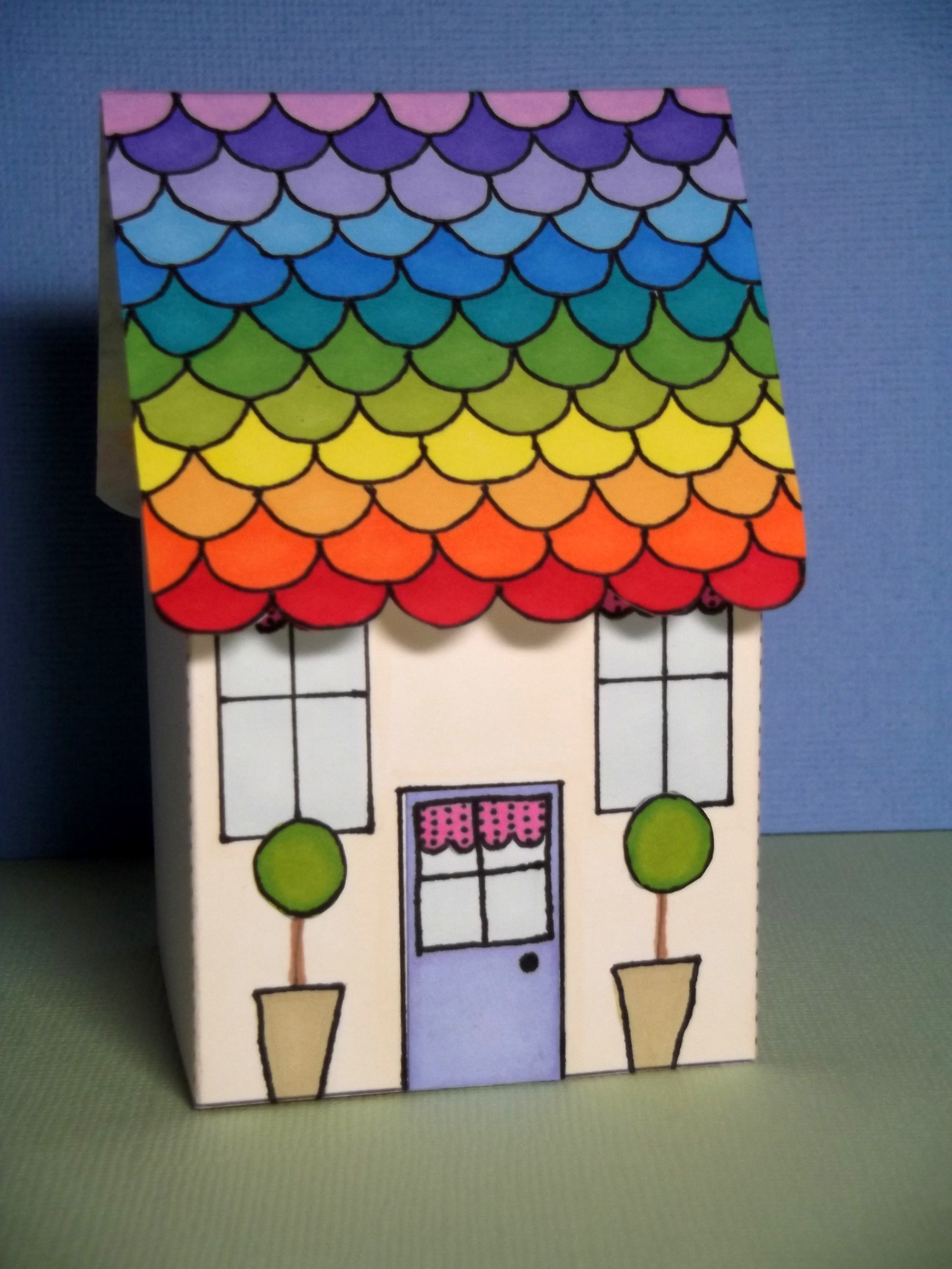 papertrey november blog hop challenge paper house my papercraft