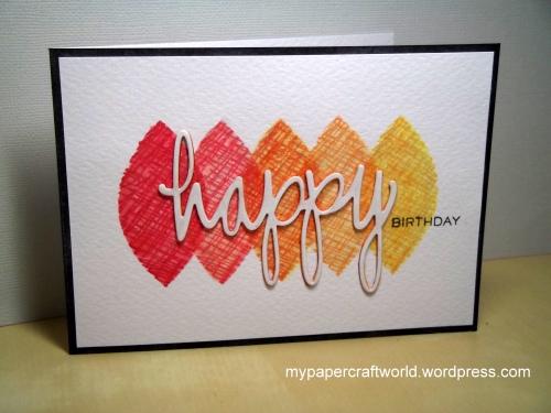 Happy Birthday Nonni, ATCAS 45, MTDS August, SSSM 18-8