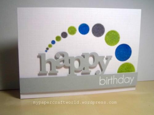 Happy Birthday Geri, CT 352, N&T 58, CFC 141, SSSW 22-7, SSSWIW July
